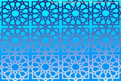 arab star pattern bright blue stat pattern wallpaper arabic islamic