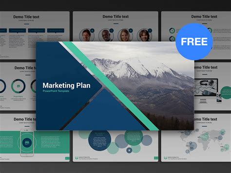Ready Made Powerpoint Presentations Templates Free Powerpoint Template Marketing Plan Template Ready Made Templates Free