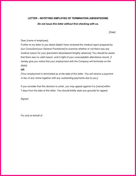 termination letter sle domestic helper letter of termination of employment contract south africa