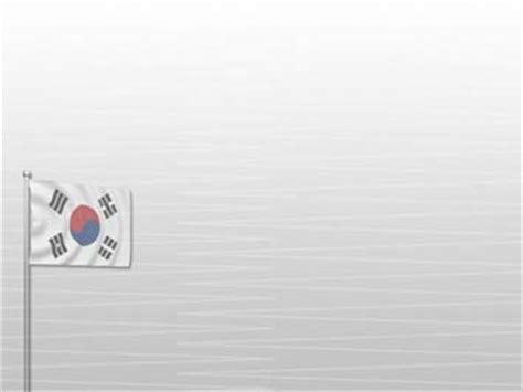 kpop powerpoint themes korea south flag 02 powerpoint templates