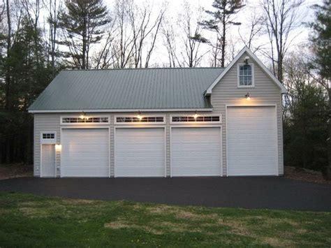garage idea w only 2 doors outdoors backyard