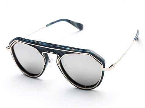 Polygonal Sunglasses sunglasses polygon blue