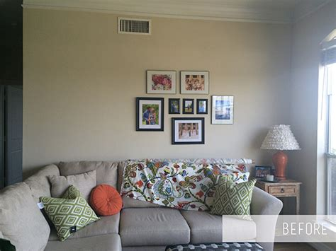 how to stick things to walls without leaving marks living room gallery wall oliver