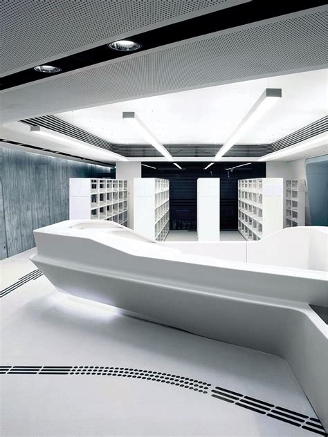 Corian Zaha Hadid by Corian Counter At Wu Vienna Hasenkopf