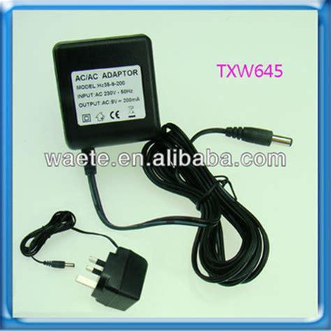 5v 200ma Power Supply by Ac Adapter 9v 200ma 5v 200ma Ac Adapter 3 Pin Uk Ac