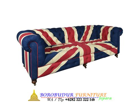 Kursi Sofa Cester 3 Seater sofa chesterfield bendera 3 seater borobudur