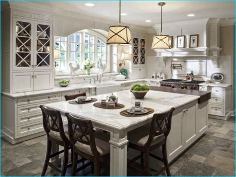 15 kitchen islands with seating for your family home kitchen island with seating at home design and interior