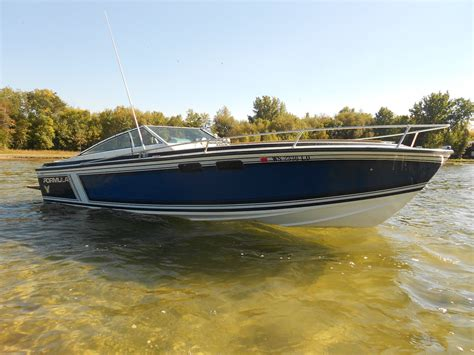 boats usa formula 233 interceptor boat for sale from usa