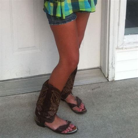 cowboy boots sandals cowboy boot flip flops wee s