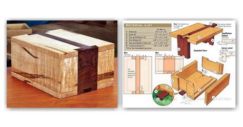 Wooden Puzzle Lock Box Plans Wooden Designs
