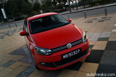 volkswagen sedan malaysia test drive review volkswagen polo sedan 1 6 autofreaks com