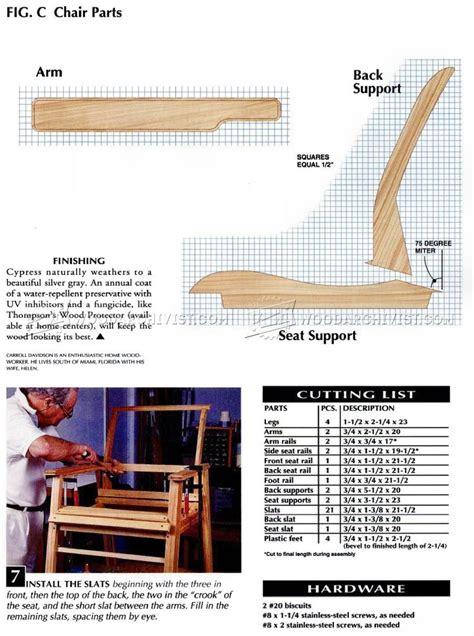 patio chair plans patio chair plans woodarchivist