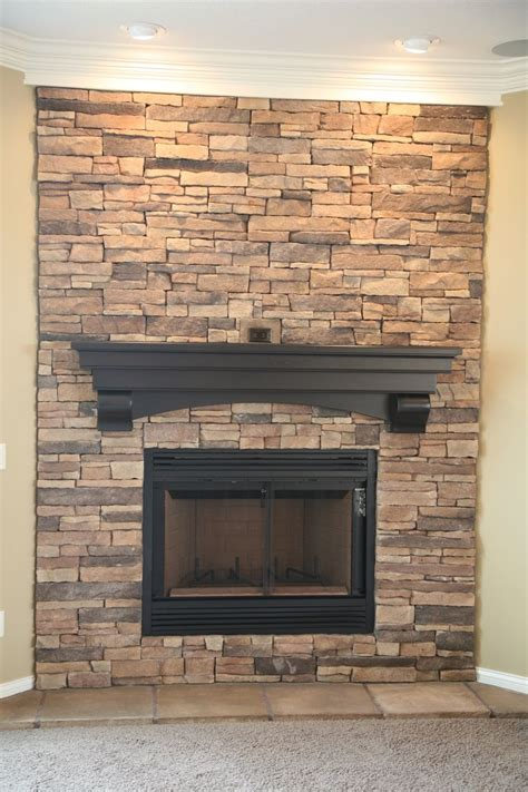 stacked stone fireplace fireplace mantle designs