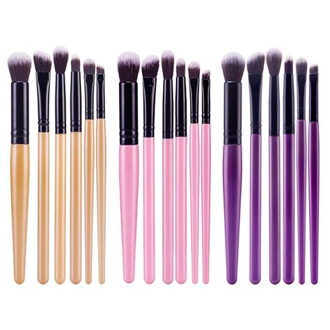 Professional Blending Brush 6pcs professional eyeshadow eyebrow blending brush set eye