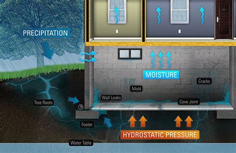why does water come up through my basement floor basement waterproofing albany schenectady ny