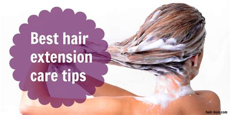 how to care for your hair extensions best hair extensions care tips