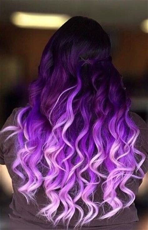 hair style dark on bottom light on top colorful hair extensions ombre dark and unique