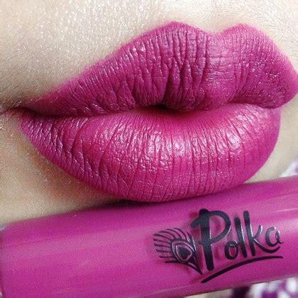 Lipstik Purbasari Cair product review mencoba lipstik matte cair dari brand lokal polka