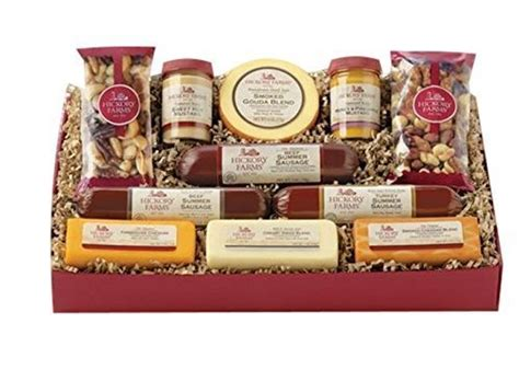 hillshire farm christmas gift set hickory farms cheese gouda best deals and prices