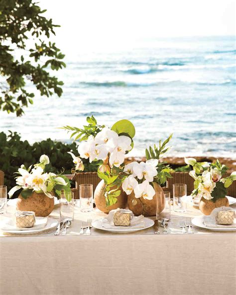 island time 10 ideas for throwing a tropical wedding martha stewart weddings