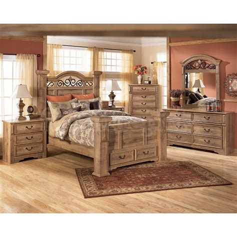 Cal King Bed Set Bedroom Furniture Sets At Ashley S Home Delightful