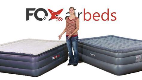 fox airbeds  smart air beds king air mattress