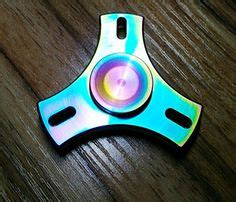 Colorful Metal Two Spinner Fridget Spinner Rainbow Metalic taold rainbow color 2 sides fidget spinner relieve
