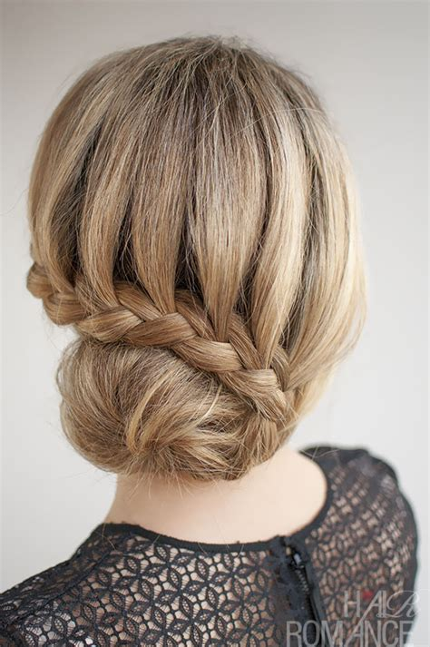 Braided Buns Hairstyles by 30 Buns In 30 Days Day 7 Lace Braided Bun Hair