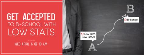 Get Into Top Mba With Low Gpa by Tips For Applying To B School With A Low Gpa Gmat
