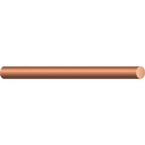 southwire by the foot 4 solid bare copper wire 10644390