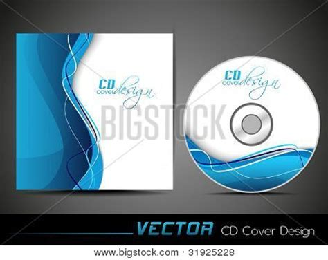 vector illustration cd cover vector photo bigstock