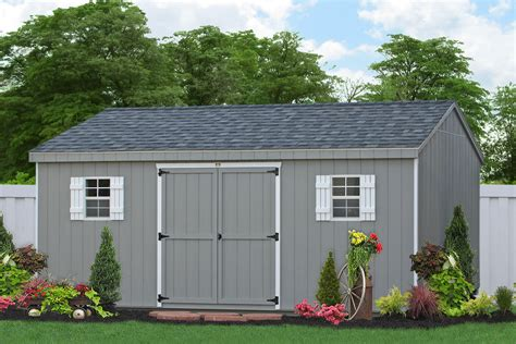build   storage shed   options