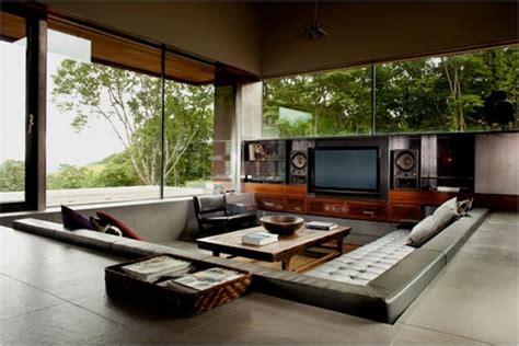 wonderful sunken sitting areas designs home design