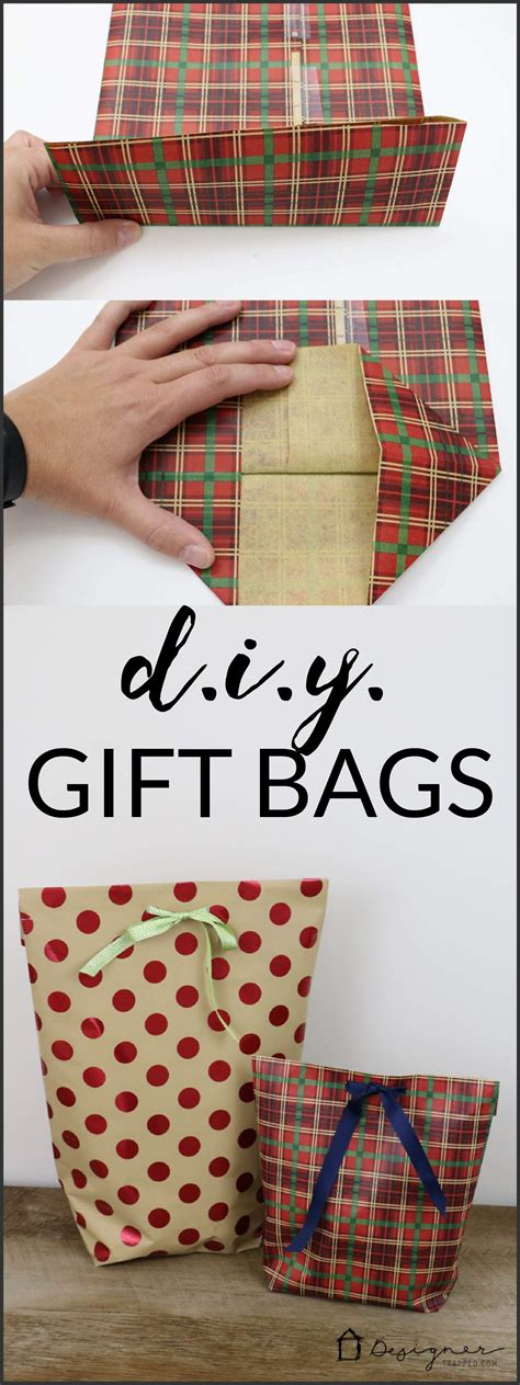 Paper Gifts To Make - how to make a diy gift bag for wraps learning