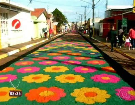 alfombras ana maria ana maria explica significado do feriado de corpus christi