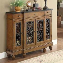 Hallway Tables With Storage Vidi Accent Hallway Console Sofa Table Chest Metal Decor Door Storage Drawer Oak Ebay