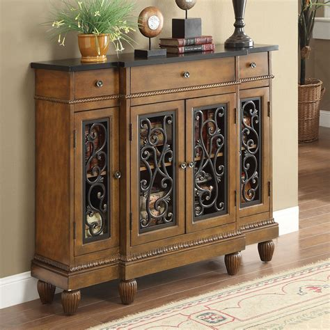 Console Chest Of Drawers vidi accent hallway console sofa table chest metal decor door storage drawer oak ebay
