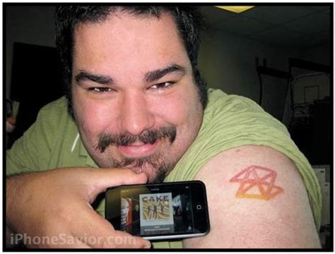 zune tattoo fail iphone savior zune tattoo guy scoffs at zune s epic fail
