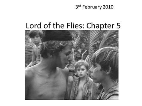 theme of lord of the flies chapter 11 lord of the flies chapter 5 by he4therlouise teaching