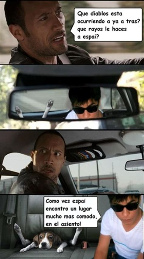 The Rock In Car Meme - la roca conduciendo memes taringa