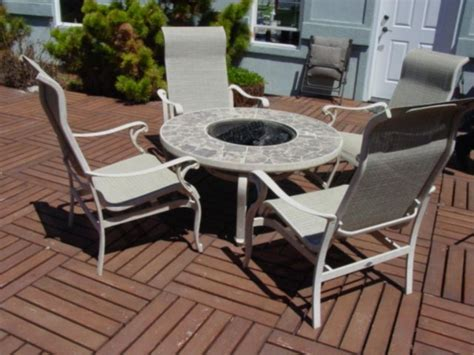 hton bay aluminum patio furniture pc aluminum hton bay outdoor dinning patio vanityset info