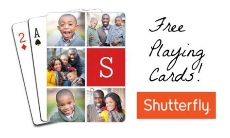 Where Can You Buy A Shutterfly Gift Card - shutterfly deal free set of playing cards southern savers