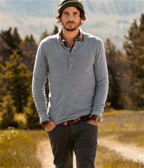 Rugged Outdoor Wear Plaid Shirt A Sleeve Henley Style Pinterest Sleeve Style And Shirts