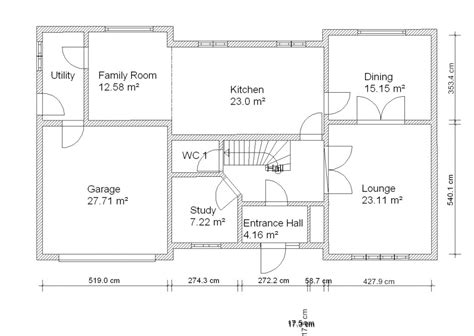 Floor Plan For A 940 Sq Ft Ranch Style Home house plan 2d drawing house design ideas