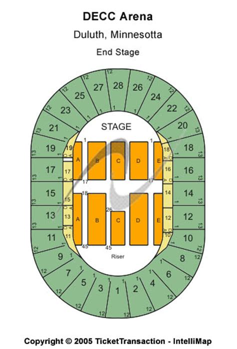 decc amsoil arena seating chart disney on tickets seating chart decc