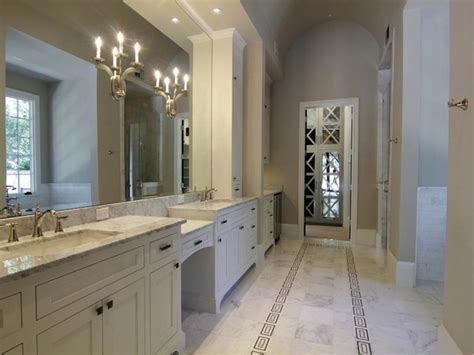 Gray Bathroom Decorating Ideas grey and white master bath bathroom designs decorating ideas