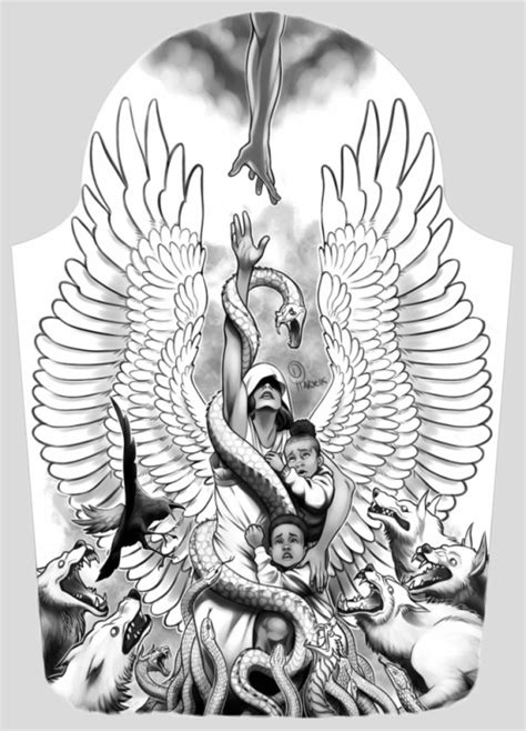 angel tattoos tumblr design