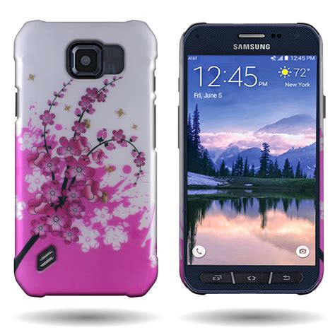 Casing Samsung S6 Mashimaro 1 Custom Hardcase for samsung galaxy s6 active g890 flower design slim back cover ebay