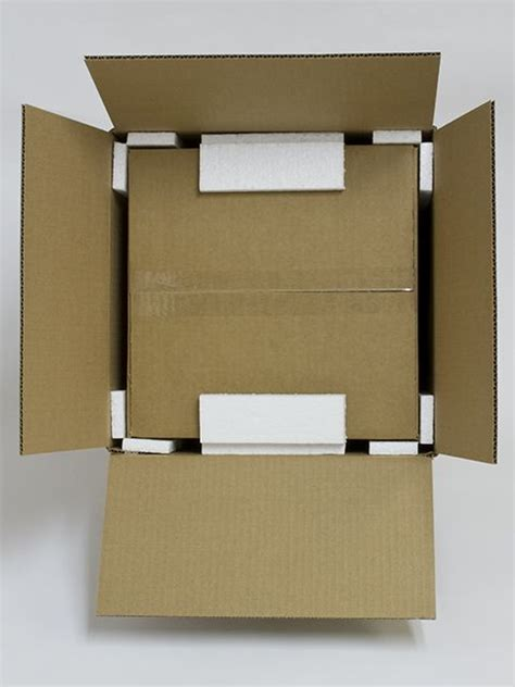 Sterofoam Box Package foam corner protectors for shipping and packaging