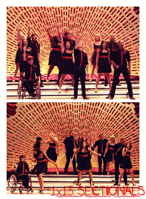 glee sectionals season 2 sectionals 1x13 glee fan art 9367568 fanpop